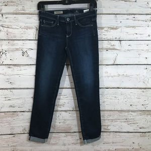 AG Jeans Cigarette Roll Up Jeans
